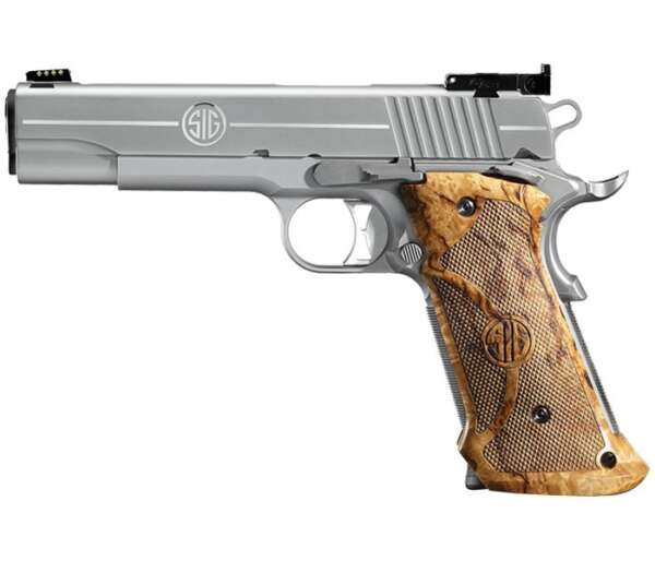 1911 Stainless Super Target Full-Size