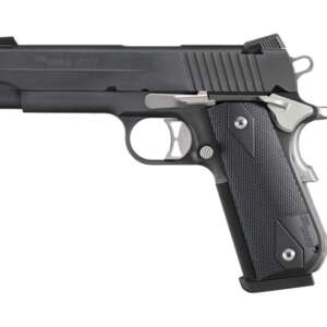 """SIG SAUER 1911 FASTBACK NIGHTMARE CARRY .45 ACP 4.2"""" BARREL 8-ROUNDS NIGHT SIGHTS"""