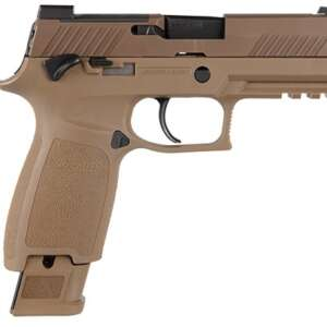The M18 was recently issued to all branches of the U.S. Military and was chosen as the official sidearm of the U.S. Marine Corps